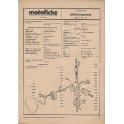 MOTOBECANE D 55 de 1974 et plus