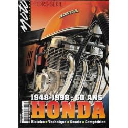 MOTO LEGENDE Hors-Série 50 ans HONDA (1948 / 1998)