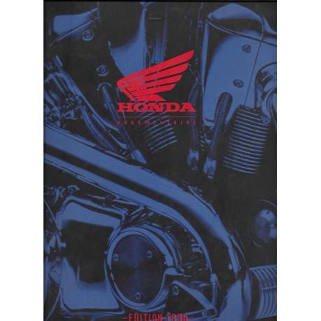 HONDA France: Argumentaire de vente modèles 1996