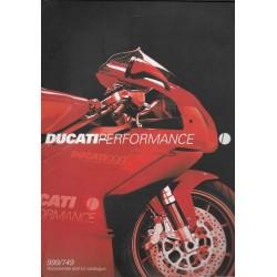 Catalogue DUCATI accessoires 999 / 749 de2004