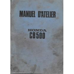 HONDA CB 500 FOUR (Manuel de base)