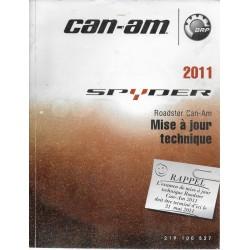 CAN-AM SPYDER de 2011 (supplément mises à jour)