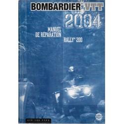 BOMBARDIER Quad RALLY 200 de 2004 (en français)