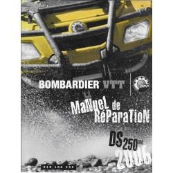 BOMBARDIER Quad DS 250 mc de 2006 (en français)