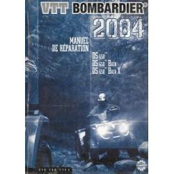 BOMBARDIER Quad DS 650 mc / Baja / Baja X de 2004 français