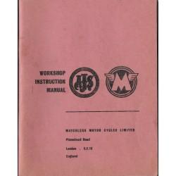 Manuel atelier AJS & MATCHLESS de 1957 à 1962