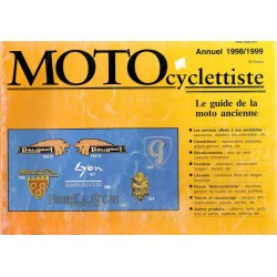 MOTOcyclettiste guide annuel 19978 / 1999