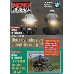 BMW: N° spécial MOTO-JOURNAL de février 1996