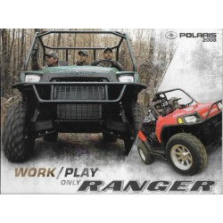 Catalogue POLARIS RANGER de 2008