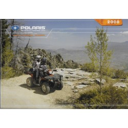 Catalogue POLARIS gamme Quads de 2008