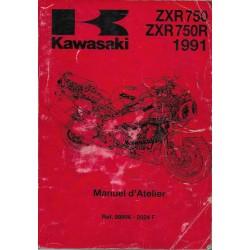 Manuel atelier KAWASAKI STINGER ZXR 750 J1 / K1 (1991)