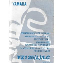 Manuel atelier YAMAHA YZ 125 (L) / LC 1999