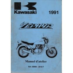 Manuel atelier KAWASAKI ZEPHYR 750 C1 de 1991