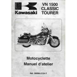 Manuel atelier KAWASAKI VN 1500 Classic Tourer 1998 / 1999