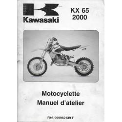 Manuel atelier KAWASAKI KX 65 de 2000