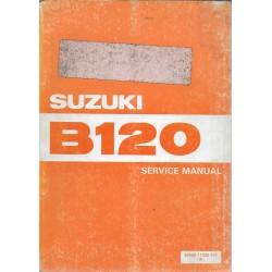 Manuel atelier SUZUKI B 120 (édition 03 / 1982)
