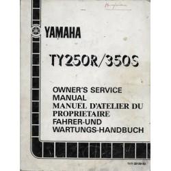 YAMAHA TY 250 R / TY 350 S de 1986 type1VY