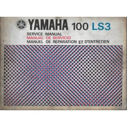 YAMAHA 100 LS3 (manuel atelier 11 / 1972)