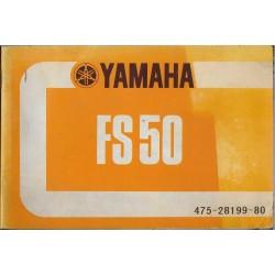 YAMAHA FS 50 (type 475) modèle 1974