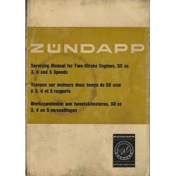 ZUNDAPP 50cc manuel atelier tous types (03 / 1975)