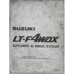 Manuel atelier SUZUKI LT-F 4WDXM (280 cc) de 1991