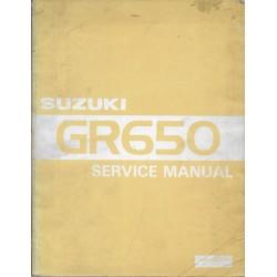 Manuel atelier SUZUKI GR 650 (02 / 1983)