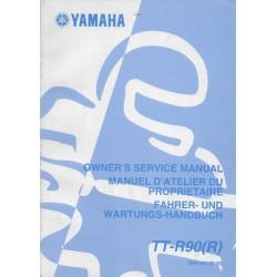 YAMAHA TT-R 90 (R) type 5HN modèle 2003