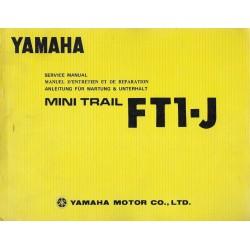 YAMAHA FT1-J (50cc) modèle 1973 (07/ 1972)
