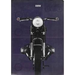 Prospectus gamme motos BMW 1967