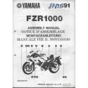 YAMAHA FZR 1000 de 1991 (assemblage 09 / 90) type 3GM
