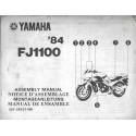 YAMAHA FJ 1100 de 1984 (assemblage 01 / 84) type 36Y