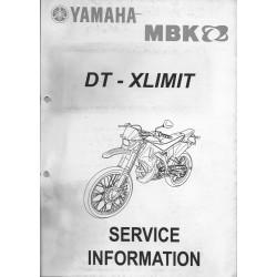 YAMAHA / MBK DT 50 / X-LIMIT (informations 12 / 2003 )