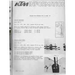 KTM infos techniques 12 / 1985 à 07 / 1990 (130 pages)