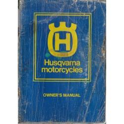 HUSQVARNA WR / CR (Suédoises 2 temps) manuel propriétaire