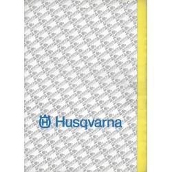 Prospectus gamme HUSQVARNA Cross / Enduro de 1991