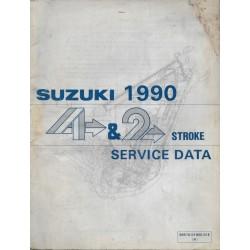 Manuel technique SUZUKI 2 / 4 temps 1990 ) en anglais