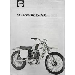 Prospectus gamme motos BSA 1968