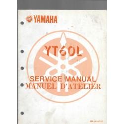 Manuel atelier YAMAHA YT 60 L 1984