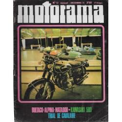 MOTORAMA n° 12 (12 / 1971)