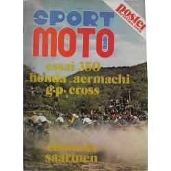 SPORT MOTO n° (08 / 1972)