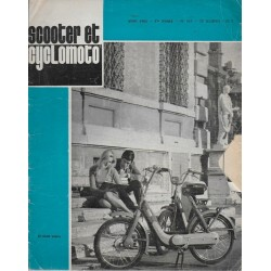 Scooter et Cyclomoto n° 187 (03 / 1968)