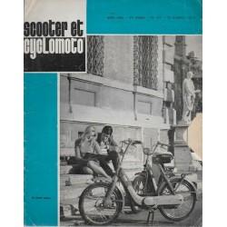 Scooter et Cyclomoto n° 187 (03 / 1968)
