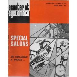 Scooter et Cyclomoto n° 191 Spécial Salons (10 / 1968)