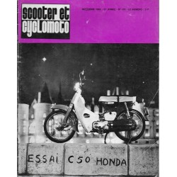 Scooter et Cyclomoto n° 193 (12 / 1968)