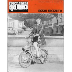 Scooter et Cyclomoto n° 196 (03 / 1969)