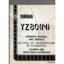 YAMAHA YZ 80 (N) 1985 (Manuel atelier type 58T)