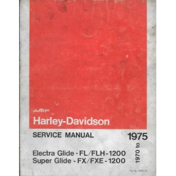 HARLEY-DAVIDSON Electra Glide / Super Glide de 1975