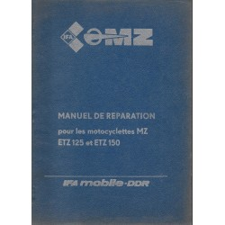 MZ 125 / 150 ETZ (manuel atelier octobre 1984)