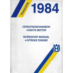 HUSQVARNA Moteurs 4 temps-1984 (manuel atelier)