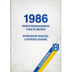 HUSQVARNA Moteurs 4 temps-1986 (manuel atelier)
